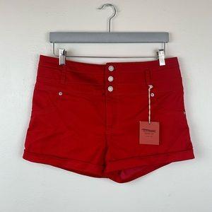 NWT Mossimo Super Stretch High Rise Cuffed Shorts